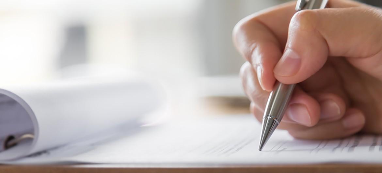 Kugelschreiber Formular